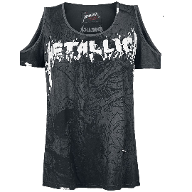 Metallica EMP Signature Collection Girl-Shirt dunkelgrau