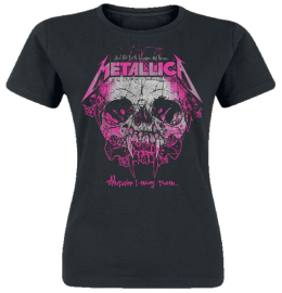 Metallica Wherever I May Roam Girl-Shirt schwarz