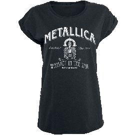 Metallica Whiskey In the Jar Girl-Shirt schwarz