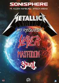 Metallica Tourposter 2014-06-04 - Hamburg